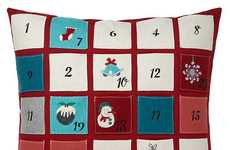 Christmas Countdown Pillows - This Christmas Pillow from John Lewis Doubles as an Advent Calendar
