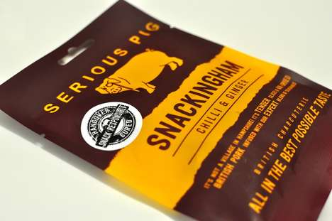 Hangover-Thwarting Jerky Snacks - This Snack is the World's First Hangover-Preventing Meat