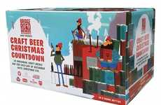 Craft Beer Calendars - This Beer Advent Calendar Supplies 24 Days of Craft Brews