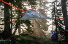 Elevated Treetop Tents