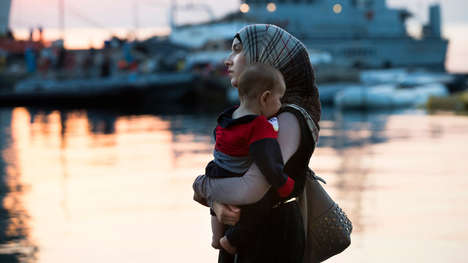 Refugee Baby Carriers - Carry the Future is Distributing Baby Carriers to Syrian Refugees in Greece