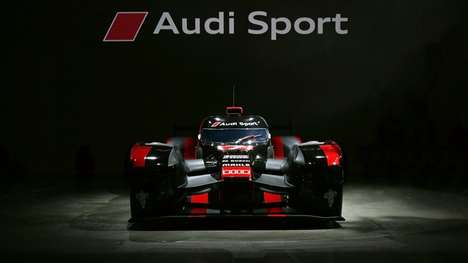 Hybrid Race Cars - The New Audi R18 Features a Lightweight, Race-Friendly Design