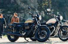 Relaxed Cruiser Motorbikes - The V9 Roamer Offers a Relaxed and Painless Riding Position