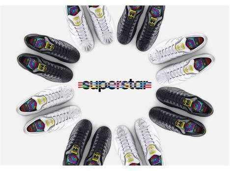 Sculpted Shoe Collections - The Supershell Sculpted Shoes Feature Designs By Pharrell Williams