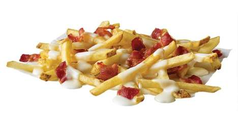 Fondue-Inspired French Fries - This Fast Food Chain is Now Selling 'Bacon Fondue Fries'
