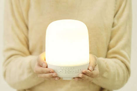 Intelligent Aroma Diffusers - The Smart Aroma Diffuser Lamp is Compatible with Smartphones