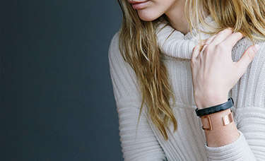 Feminine Fitness Trackers - The Jawbone UP2 is for Tracking and Connecting All Lifestyle Aspects