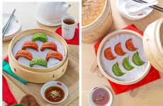 Festive Dumpling Menus - Din Tai Fung's Christmas Banquet Menu Includes Seasonal Eats