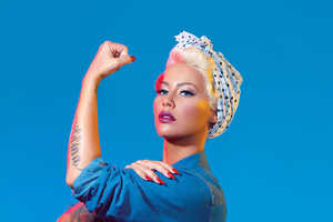 Paper Magazine Has Amber Rose Dress as Feminist Icons and Leaders
