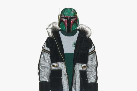 Sci-Fi Streetwear Illustrations - David Murray Paints Star Wars Characters in Streetwear Labels
