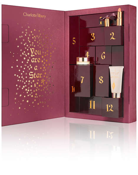 Beauty Advent Calendars - Charlotte Tilbury's Makeup Spell Book Features Essential Products