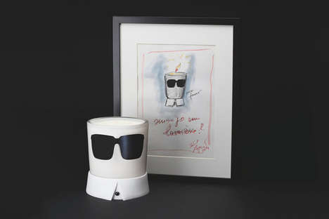 Fashion Icon Candles - This Welton London Candle is Inspired by the Famous Karl Lagerfeld