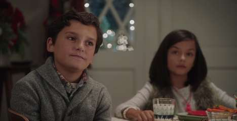 Fashion-Punishing Christmas Ads - This Old Navy Ad Spot Puts Unfashionable Guests at the Kids' Table