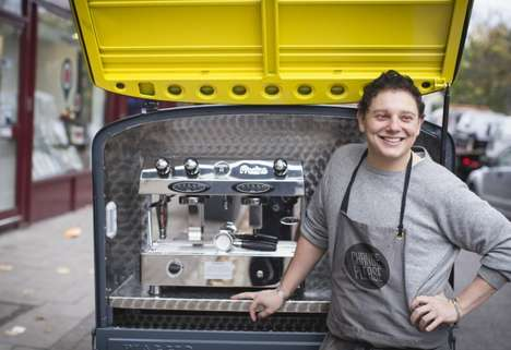Homeless-Run Coffee Trucks - This London Truck Offers Cheap Coffees Served by Homeless Employees