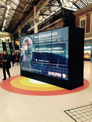 Interactive Headache Installations - Nurofen Express' Stunt Asks People to Recall Life's Headaches