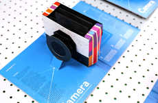 Foldable Book Cameras - 'This Book is a Camera' Pop-Up Novel Pages Creatively Turn into the Device