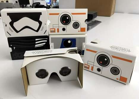 Promotional Virtual Reality Headsets - The Star Wars Google Cardboard is a VR Headset for Fans