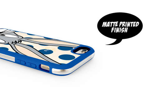 Hardshell Cartoon Smartphone Cases - Colette Features Looney Tunes on its Fingerprint-Free Cases