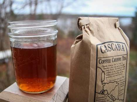 Hybrid Coffee Tea Blends - Cascara is a Tea-Like Drink Made from the Skin of Coffee Beans