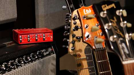Guitar-Switching Gadgets - The JX-42 Guitar and Amp Switcher is Compact and Affordable