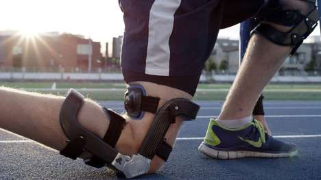 Spring-Loaded Knee Braces - The Levitation Knee Brace Puts a Spring In Your Step