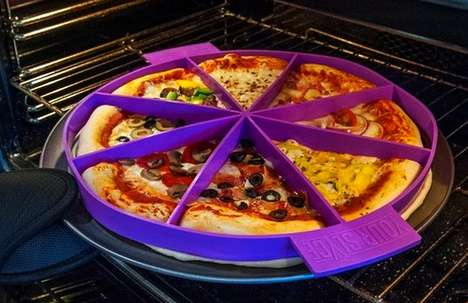 Pre-Sliced Pizza Pans - This Cooking Aid Called 'Your Slyce' Divides Pizza Portions for Picky Eaters