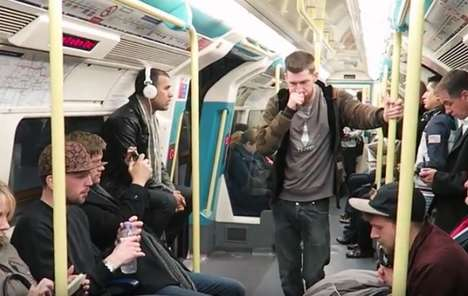 Beatboxing Healthcare Stunts - This Lung Cancer Awareness Stunt Shares a Message Through Beatboxing