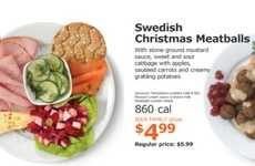 Festive Meatball Platters - These Holiday Platters Feature Traditional Swedish Ingredients