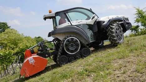 Ultra-Steep Tractors - This Ferrari Tractor Can Climb the Steepest and Most Slippery Hills