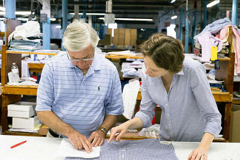Eco-Friendly Dress Shirts - This Company is Making Preppy Clothing That is Also Sustainable
