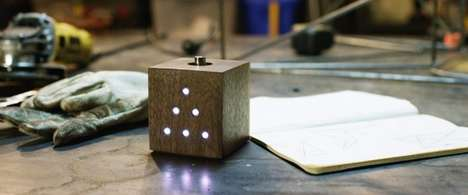 Creativity-Encouraging Clocks - The 'Make Time' Modern Clock Encourages Productivity