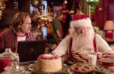 Holiday Computer Protection Ads - This Norton Software Ad Shows the Naughty & Nice List Leaked