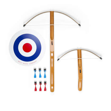 Toy Crossbow Kits - This Playful Set Contains Two Crossbows That Shoot Suction Cup Darts