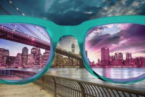 Color Therapy Glasses - These Glasses Have Filtered Lenses That Improve Focus, Balance & Creativity