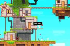 Book-Bound Games - This Special Edition Game Version of Fez is Classy and Tangible