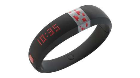 Video Game-Embedded Jewelry - The Microsoft Gameband Minecraft Bracelet is a Gamer-Focused Wearable