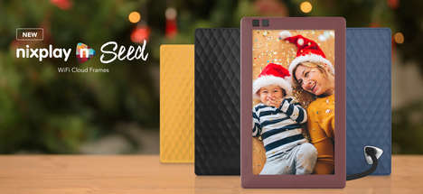 Cloud-Connected Picture Frames - The Nixplay Seed Digital Photo Frame Streams Social Media Pictures
