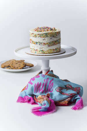 Designer Dessert Scarves - The Momofuku Milk Bar Inspired a Sweet Scarf Design