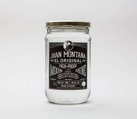 All-Natural Modern Moonshines - This Mexican Distilled Liquor is Inspired by Moonshine
