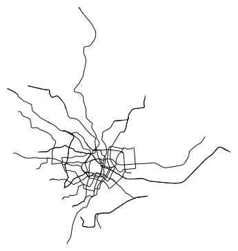 Minimalist Metro Doodles - This Subway Poster Shows Scribble-Like Maps of Major Transit Systems