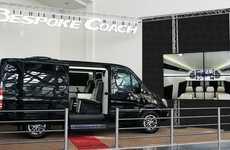 Connected Multimedia Vans - The Bespoke 144 Sprinter Van Offers Multiple Video Sources