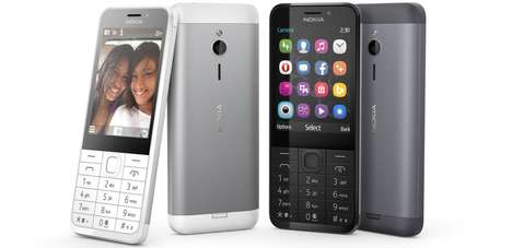 Affordable Minimalist Smartphones - The Nokia 230 Targets Consumers in Developing Markets