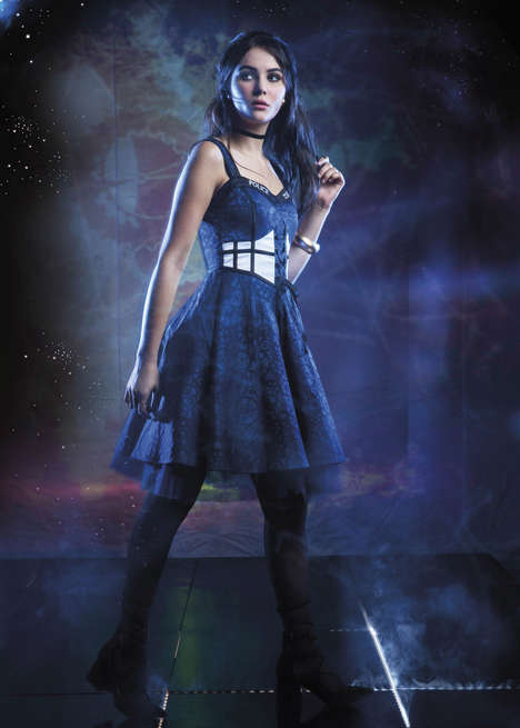 Haute Sci-Fi Fashions - The Doctor Who Hot Topic Fashion Collection Praises the Themes of the Show