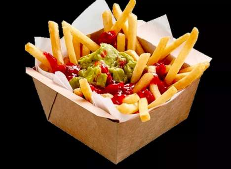Hybrid Mexican Fries - McDonald's Australia Offers Fries Topped with American and Mexican Fare