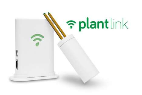 Connected Gardening Gadgets - The 'PlantLink' Plant Monitoring System Eliminates Guesswork