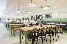 Staff Food Hall Makeovers - Fortnum & Mason's Staff Restaurant Has Undergone an Overhaul