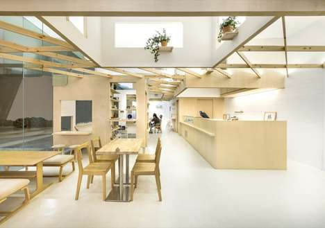 Minimalist Shared Retail Spaces - The Little Dröm Store and Kki Sweets Share a Shop in Singapore
