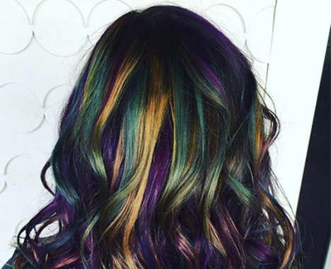Oil Slick Hairstyles