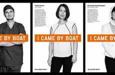 Empowering Refugee Campaigns - The 'I Came by Boat' Campaign Aims to Celebrate Australian Refugees