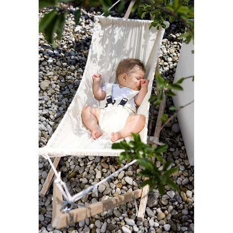 Laid-Back Baby Beds - The 'Koala' Baby Hammock by Cuckooland Keeps Babies Softly Supported